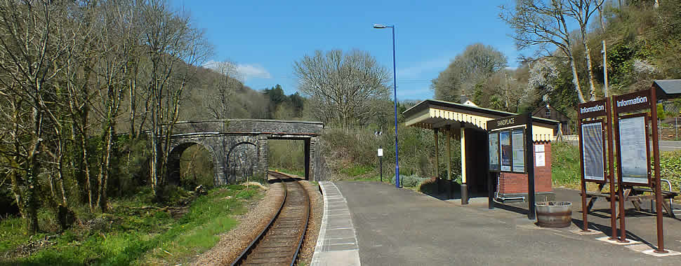 Sandplace Railway Station